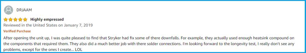 amazon review for 955hpc Radio