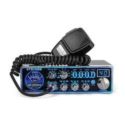 Strykerradios 497hpc with a microphone and 7-Multi-color-display.